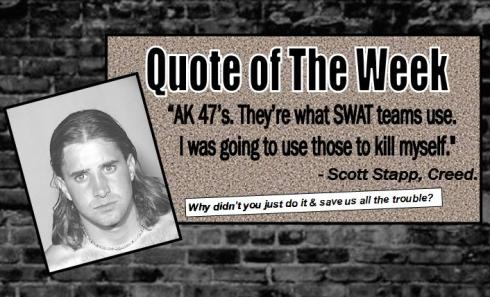 Scott Stapp Quote
